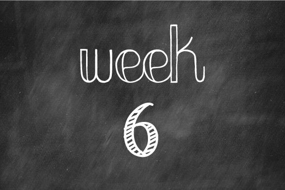 Week 6: Still not feeling so hot…
