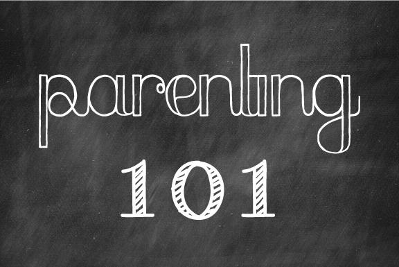Week 29: Parenting 101