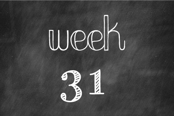 Week 31: A sweet, sweet shower!