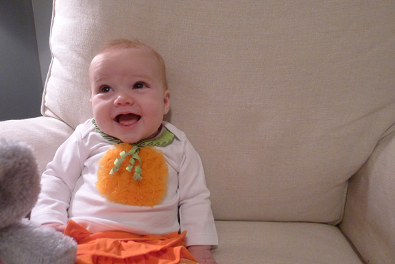 Our lil' pumpkin