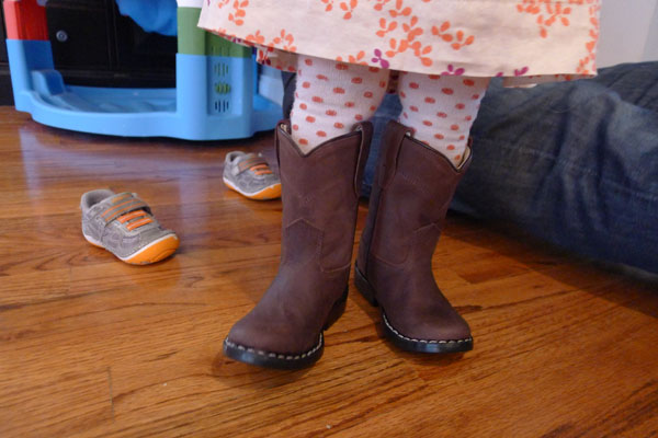 our little cowgirl…