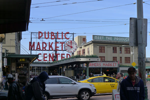 pike place market…